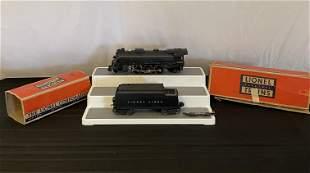 Lionel 2026 Locomotive and 6466wx Tender