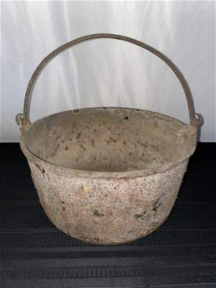 Cast Iron Pot, Early 1800s