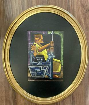 Raphael Moises Painting