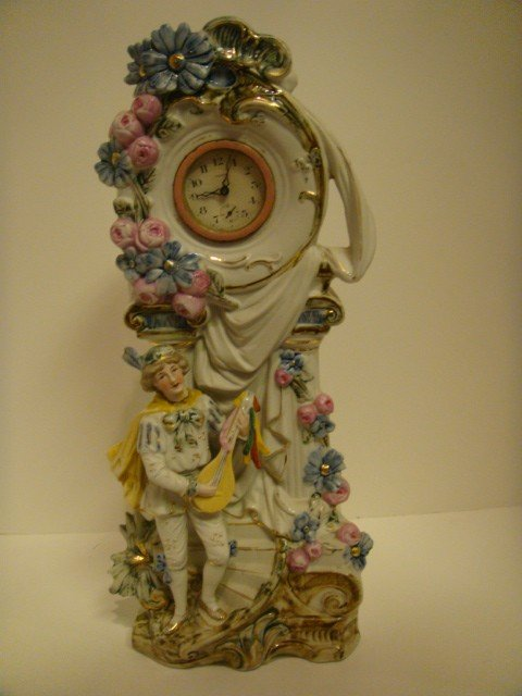 19: Ansonia Porcelain Clock