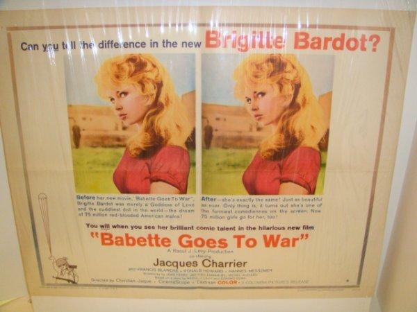 5: Babette Goes to War 1960 Original Movie Poster