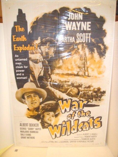 23: John Wayne War of The Wild Cats