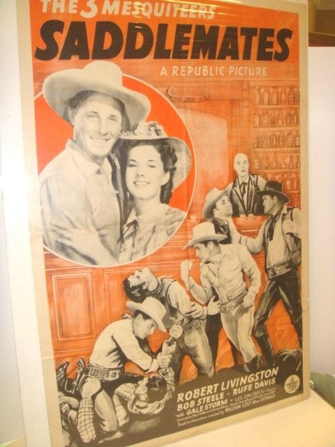 24: 1940 Saddlemates American One Sheet Movie Poster