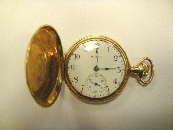 51: Elgin 14kt Pocketwatch