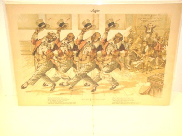 6: Sackett & Williams Colored Lithograph