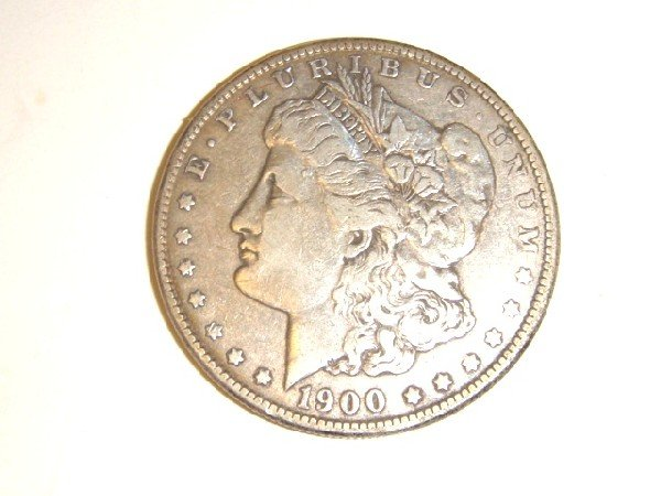 16: 1900-O Morgan Silver Dollar