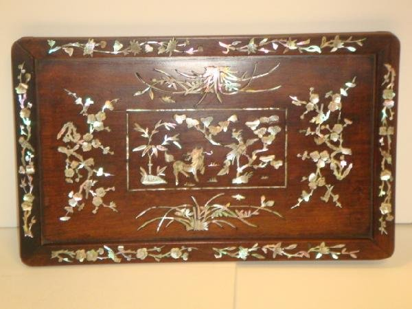 23: Mother Of Pearl Inset Tray