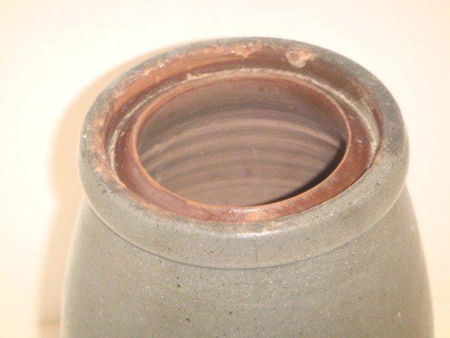 4: Hamilton & Jones stoneware crock - 2