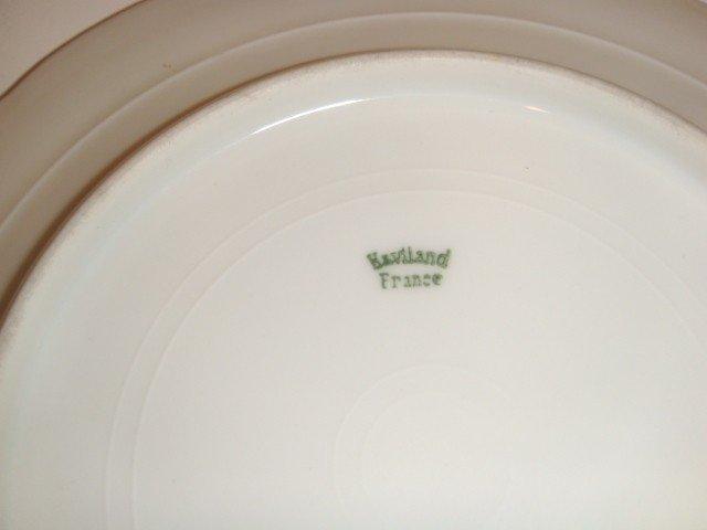6: 6 Haviland cupid saucers - 4