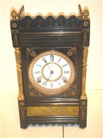 7: Ansonia mantle clock
