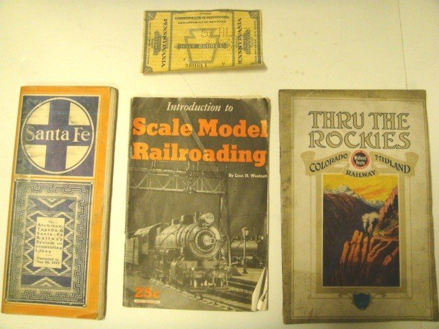 3: Unique Railroad History Lot- Santa Fe, PA