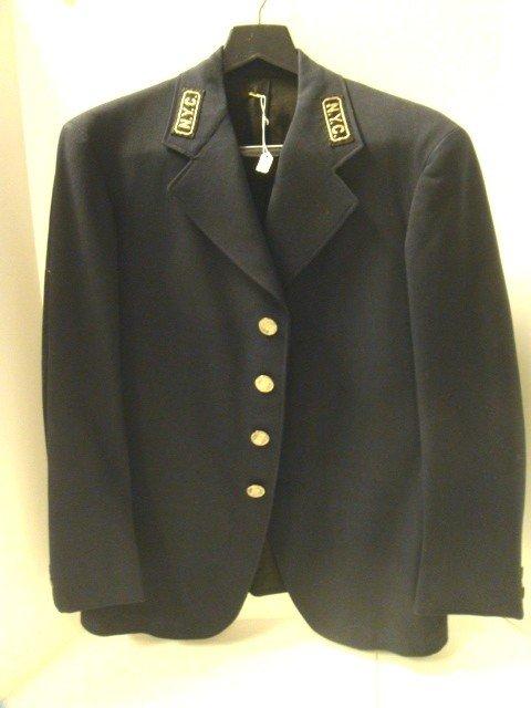 21: Early 20th Century NYC Railroad Jacket