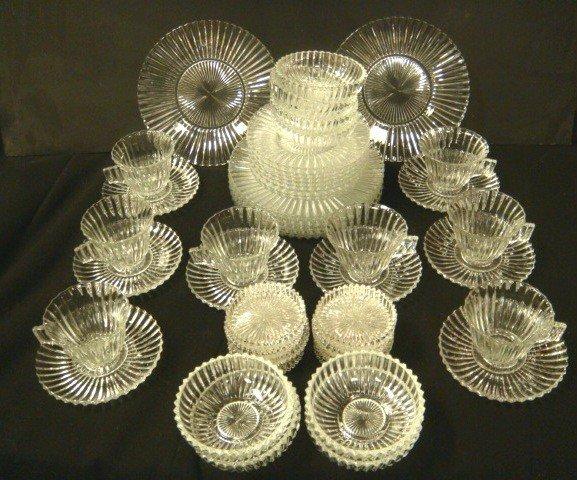 24: Heisey Glass Ridgeleigh Pattern