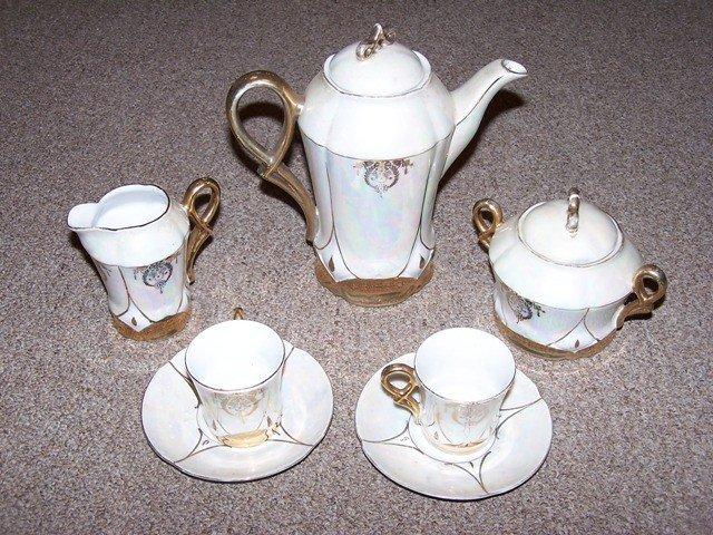 4: Luster Finish Bavaria Tea set