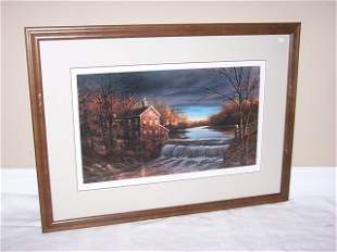 """Terry Redlin signed print """"Autumn Afternoon"""""""