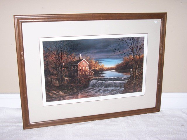 """11: Terry Redlin signed print """"Autumn Afternoon"""""""