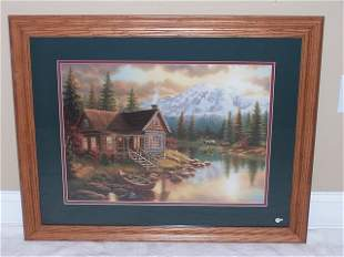 J. Gibson framed print
