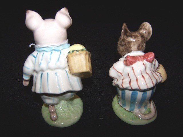 6: 2 Beatrix Potters Figurines