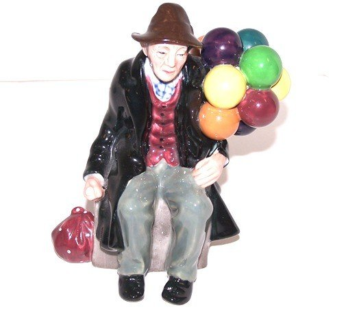 "14: Royal Doulton ""The Balloon Man"" Figurine"