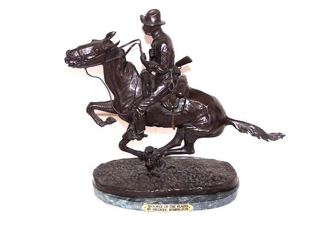 16: Frederic Remington Bronze Recast