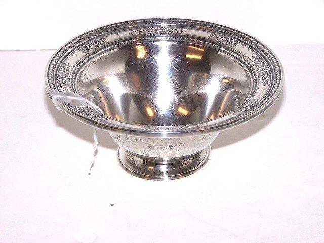 5: International Sterling Silver Bowl