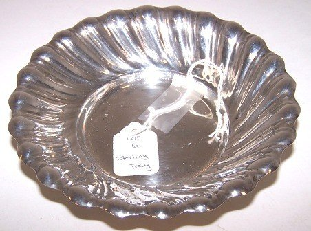 6: Rodgers Sterling Swirl Tray