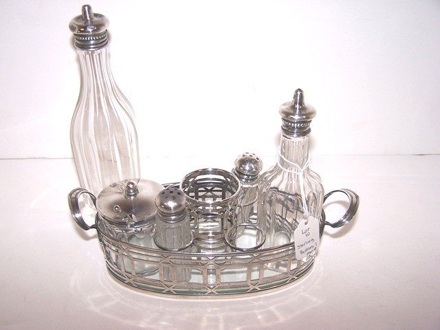 10: Misc Sterling and Glass Lot
