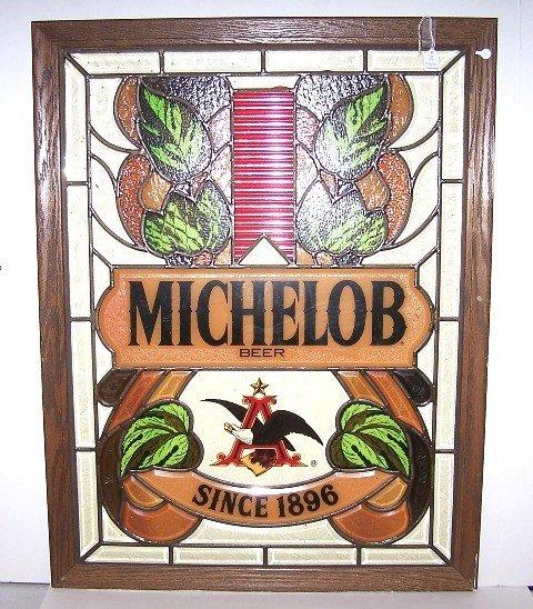 19: Michelob Advertising Window