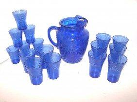 23: Blue Depression Drink Set