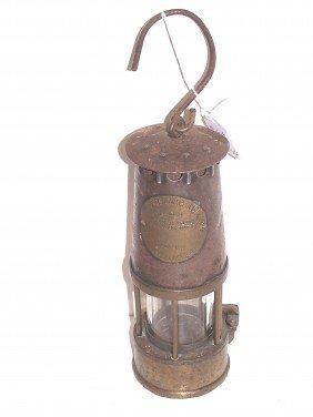 24: Vintage Copper & Brass Miners Lantern