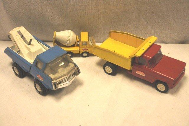 6: 3 1970's Tonka Trucks