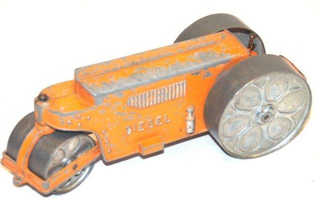 8: Hubley Kiddie Toy Die Cast Road Roller