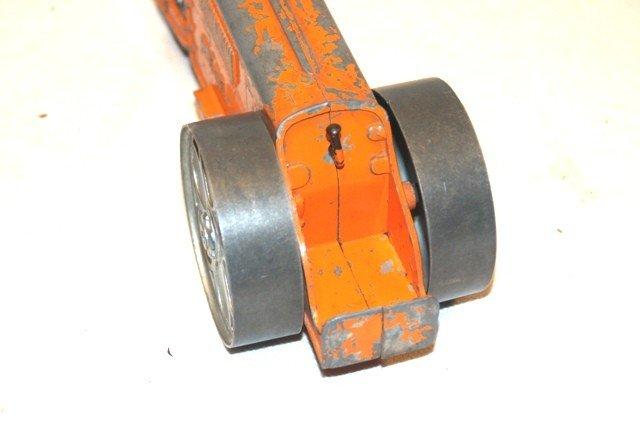 8: Hubley Kiddie Toy Die Cast Road Roller - 4