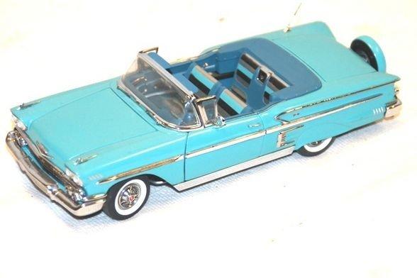 13: 1958 Chevrolet Impala- Danbury Mint