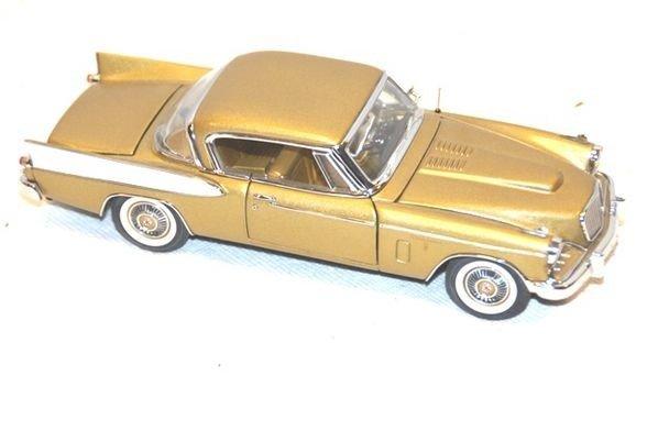 14: 1957 Studebaker Golden Hawk- Danbury Mint
