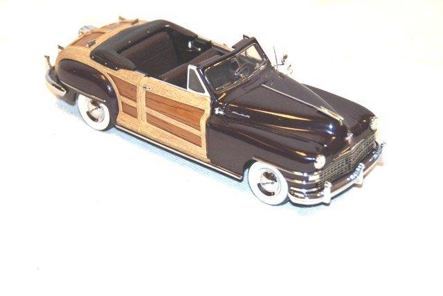 19: 1948 Chrysler Town & Country- Danbury Mint