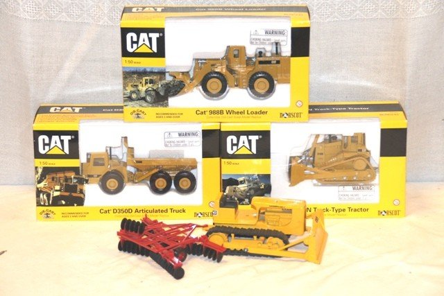 21: 4 Cat 1:50 Scale Construction Toys
