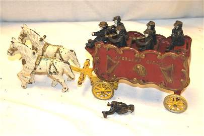 71: Overland Circus Cast Iron Toy Set