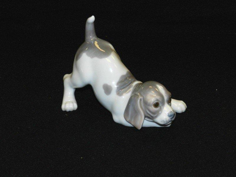 2: Lladro Playful Puppy Figurine