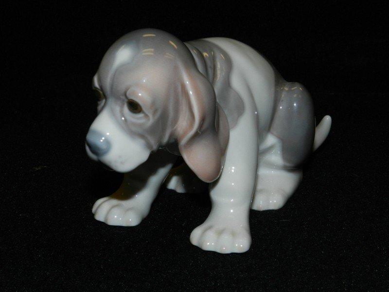 4: Lladro Playful Puppy Figurine