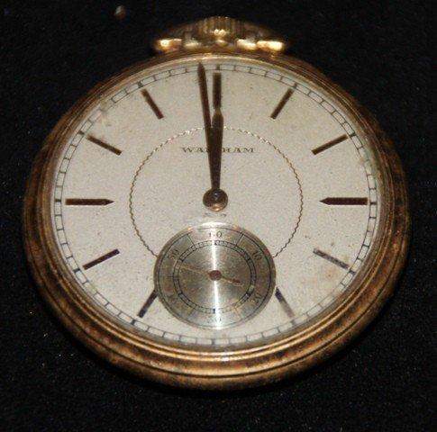19: Waltham Pocket Watch