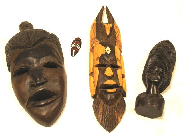 22: Lot of Various Tribal Mask and Statues