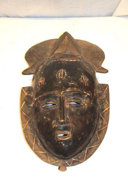 23: Ivory Coast-Baule Tribal Mask