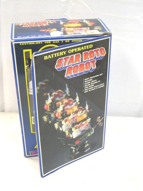9: Star ROTO Robot Battery Opp Toy