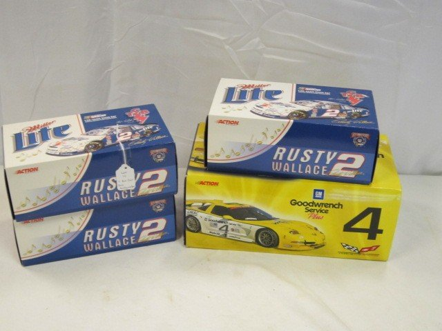 14: Rusty Wallace Action Limited Edition Die Cast Cars
