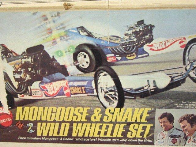 26: Vintage Hot Wheels Mongoose & Snake Track set - 4