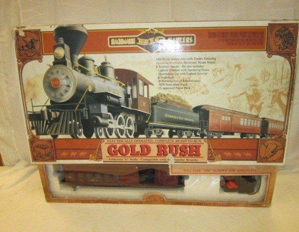 40: Bachman Gold Rush Train Set- G Scale