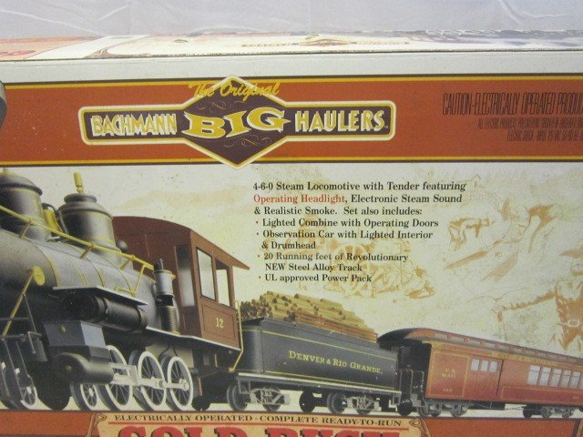 40: Bachman Gold Rush Train Set- G Scale - 2