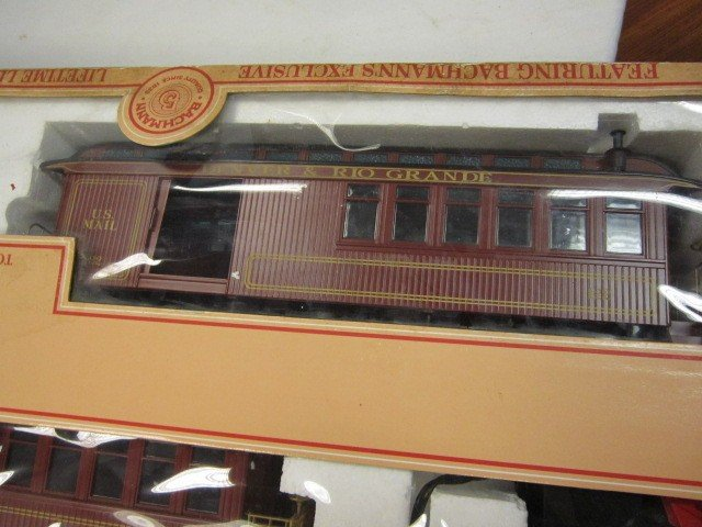 40: Bachman Gold Rush Train Set- G Scale - 4