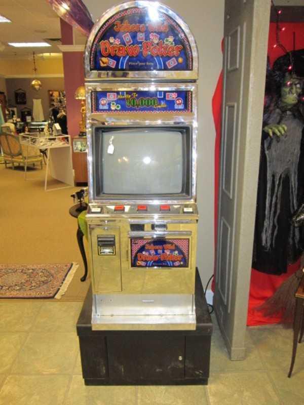 Slot Poker Machine